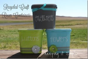 Craft Room Containers