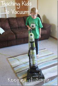 Teaching My Kids to Vacuum with Eureka #AirSpeedONE