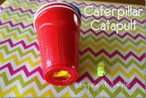 Caterpillar Catapult {Kids Craft}
