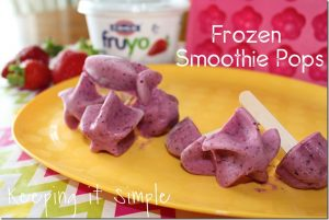 Frozen Smoothie Pops #EverydayDairy