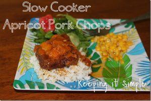 Slow Cooker Apricot Pork Chops