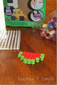 Melty Beads {Kids Crafts}
