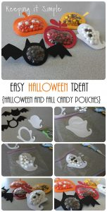Halloween and Fall Candy Pouches Tutorial