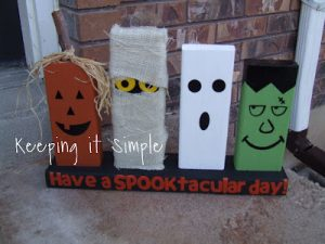Halloween Board Game {Fiskars Kids Craft}