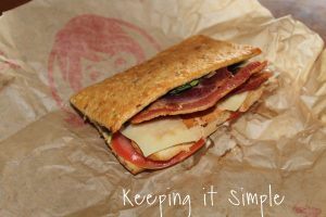 Wendy's Flat Bread $6000 SweepStakes