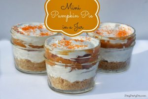 Mini Pumpkin Pie in a Jar {Guest Post}