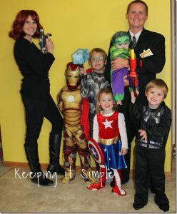 Halloween 2013: Avengers