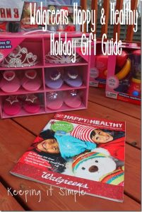 Walgreens Happy and Healthy Gift Guide #HappyAllTheWay