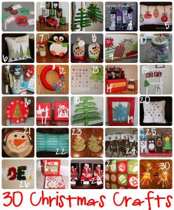 30 Easy and Fun Christmas Crafts