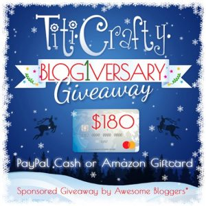 $180 Cash or Amazon Gift Card GIVEAWAY