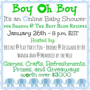 HUGE Baby Shower GIVEAWAY