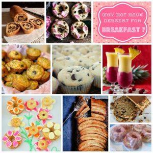 Breakfast Desserts {MMM #225 Block Party}