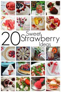 20 Sweet Strawberry Ideas {MMM #226 Block Party}