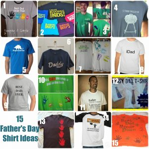 15 Father's Day Shirt Ideas #FathersDay