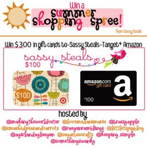 Win a Summer Shopping Spree $300 GIVEAWAY