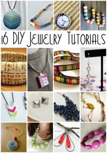 16 DIY Jewelry Tutorials {MMM #234 Block Party}