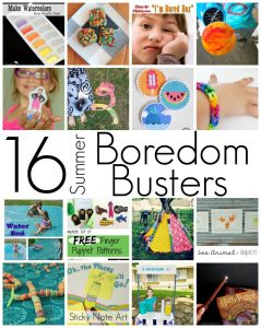 16 Summer Boredom Busters {MMM #235 Block Party}