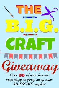 Craft Destash GIVEAWAY!!