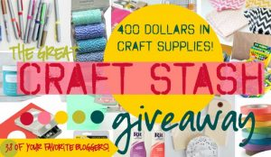 HUGE Favorite Craft Supplies GIVEAWAY