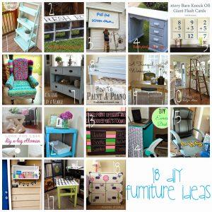 18 DIY Furniture Ideas {MMM #236 Block Party}