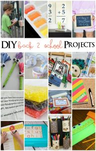 DIY Back To School Projects {MMM #238 Block Party}