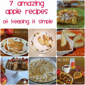 7 Amazing Apple Recipes