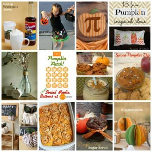 13 Fun Pumpkin Inspired Ideas {MMM #241 Block Party}