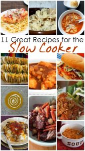 11 Great Recipes for the Slow Cooker {MMM #242 Block Party}