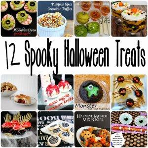 12 Spooky Halloween Treats {MMM #249 Block Party}
