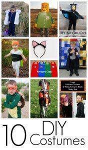 10 DIY Costume Ideas {MMM #248 Block Party}