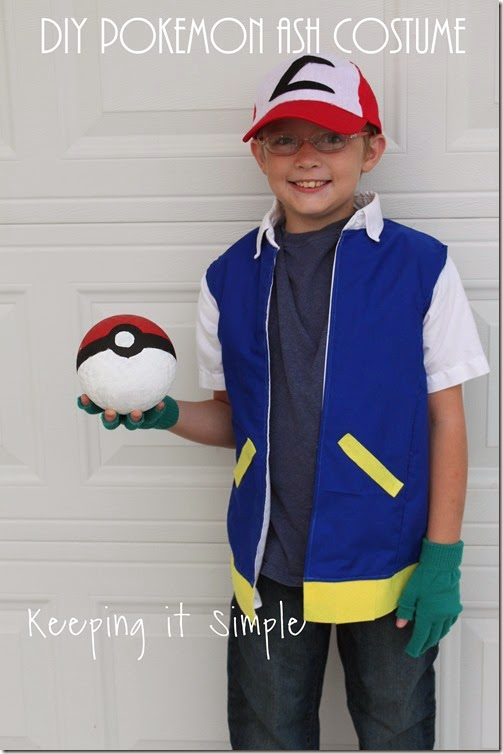 Diy Pokemon Ash Costume Keeping It Simple