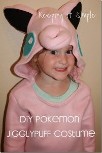 DIY Pokemon Jigglypuff Costume