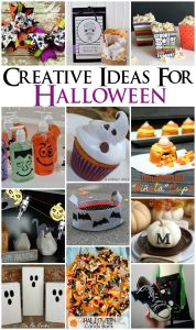 Createive Ideas for Halloween {MMM #246 Block Party}