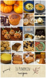 16 Pumpkin Recipes