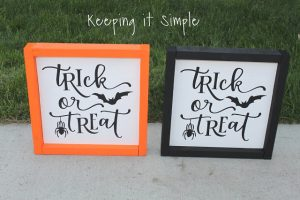 Easy Halloween Idea: Halloween Soaps with Vinyl #DTAnniversary