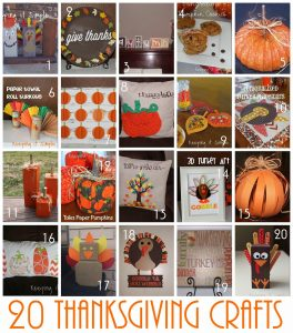 20 Super Easy Thanksgiving Craft Ideas