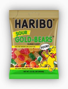 Easy Neighbor Gift Idea- Sour Gummi Bears with Free Printable Tag
