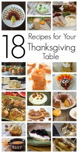 18 Recipes for Your Thanksgiving Table {Motivate Me Monday #252 Block Party}