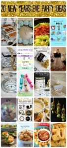 20 New Years Eve Party Ideas {MMM #258 Block Party}
