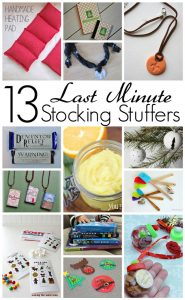 13 Last Minutes Stocking Stuffers (MMM #256 Block Party}
