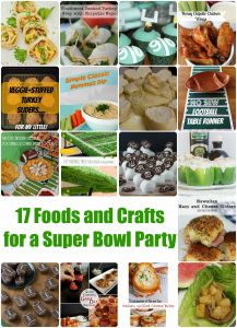17 Foods and Crafts for a Super Bowl Party {MMM #261 Block Party}