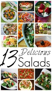 13 Delicious Salads {MMM #259 Block Party}