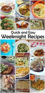 Quick and Easy Weeknight Recipes {MMM #258 Block party}