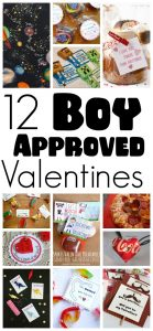 12 Boy Approved Valentines {MMM #264 Block Party}