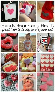 Simple Valentine's Day Ideas- DIY Heart Crafts and Food