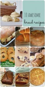 10 Awesome Bread Recipes {MMM #270 Block Party}
