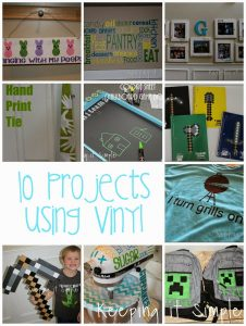 10 Fun Projects Using Vinyl