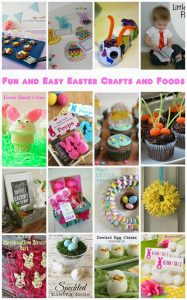 Easy Easter Craft and Food Ideas {MMM #269 Block Party}