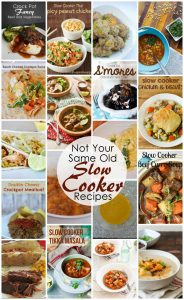 Not your Same Old Slow Cooker Recipes {MMM #271 Block Party}