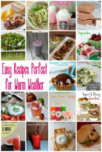 18 Easy Recipes Perfect For Warm Weather {MMM #273 Block Party}